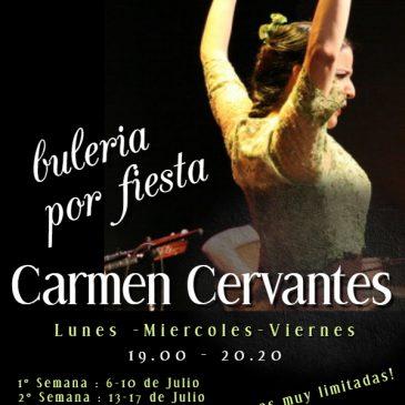 Bulerias con alegría con la profe Carmen Cervantes